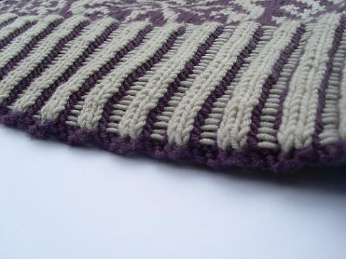Gothic Snowfall Pullover Ribbing
