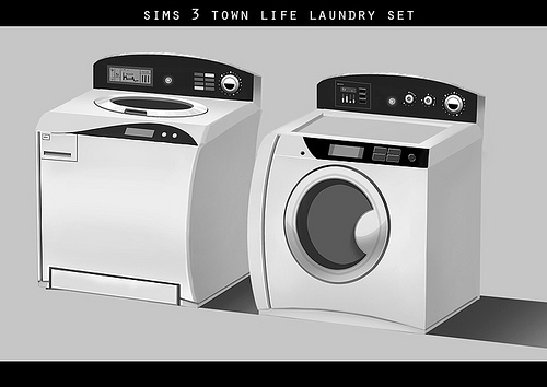 The Sims 3 Store and Town Life Stuff Concept Art