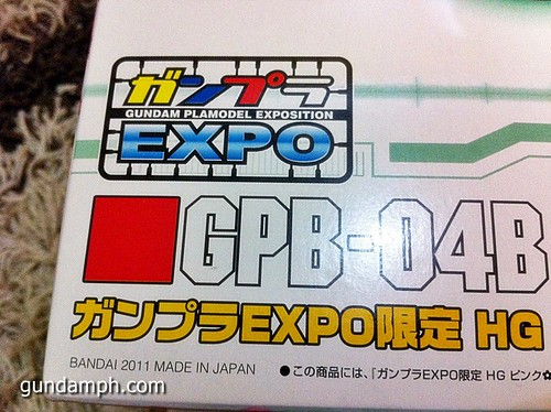 HG PINK Bearguy Limited EXPO Edition GPB (4)