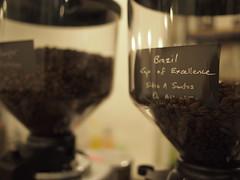 Brazil Cup Of Excellence beans, Smitten Coffee & Tea Bar
