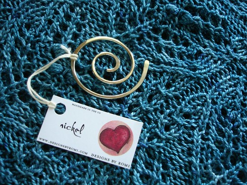 Designs by Romi shawl pin