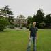 Me in the Duke's Garden.