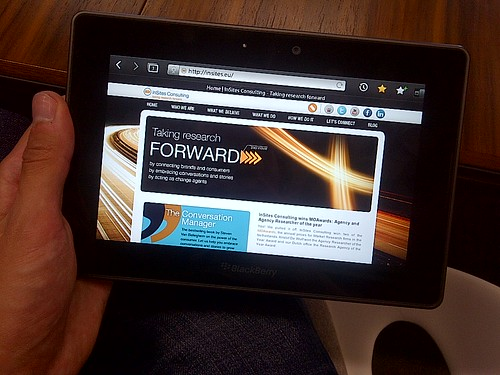 @insites website on the #Playbook