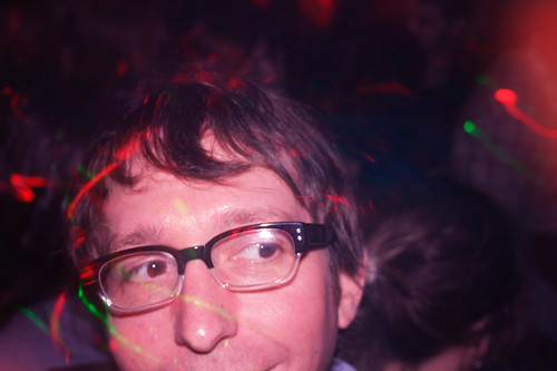 One of my best friends, Brian, at Barbarella Night Club.