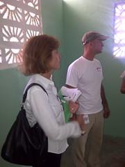 Gail Mcgovern Haiti visit