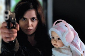 Gwen Cooper and baby