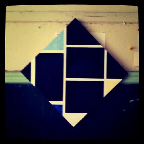 Reverse/Negative Mondrian by my Hubby