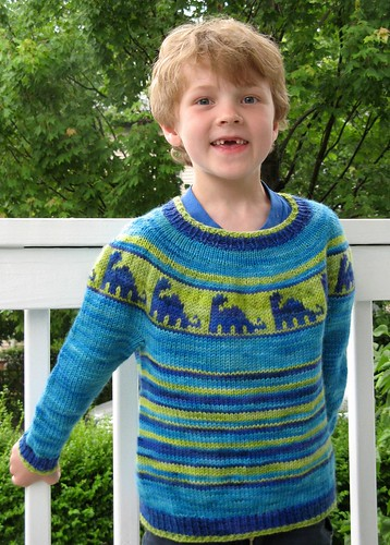 2449 J's dino sweater