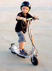 Angry Kid and the eSpark Razor Scooter