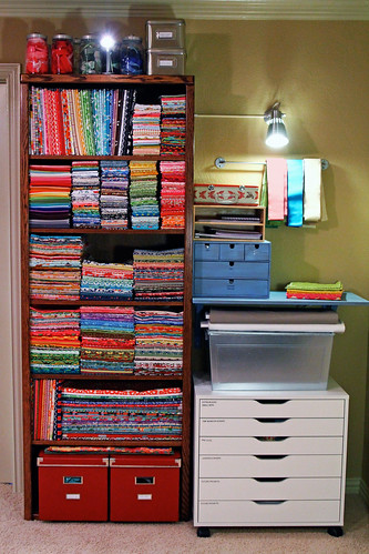 Fabric Organization: July 2011
