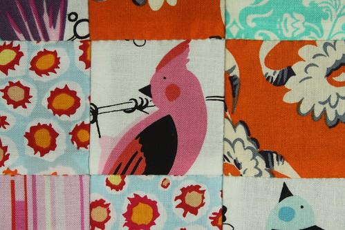 Fussy Cut Bird