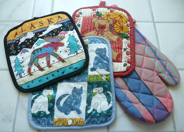 Pot holders, Nia teacher, pot protectors, pan holders, pan protectors,