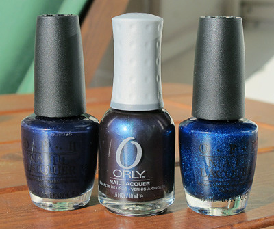 O.P.I. + Orly Polishes