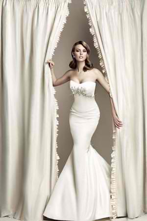 Vera Wang Wedding Dress for Kim Kardashian