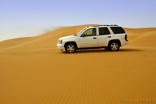 Blowing Sand withTrailBlazer by TARIQ-M