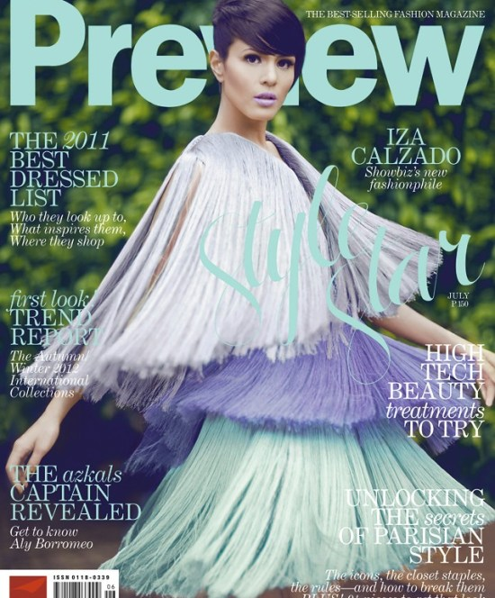 Preview July Cover