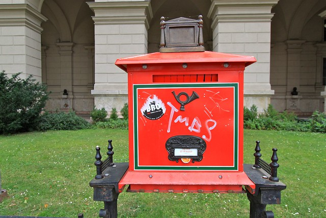 Boîte postale, Budapest, Hongrie