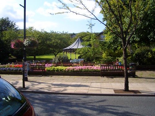 Empty bandstand