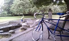 Bikes and mud pits