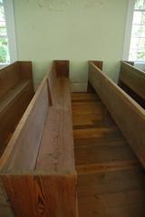 Old Pickens Presbyterian Pews