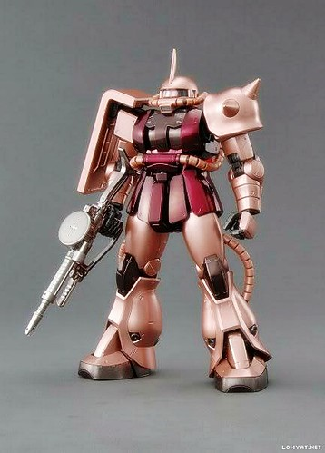 MG2009 {Coating-Expo} - Zaku-II {Red} (2)