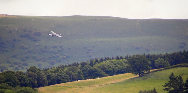 Royal Welsh Show 2011-Lancaster flyby