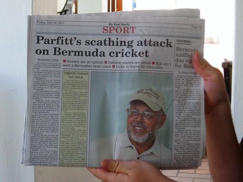 cricket drama!