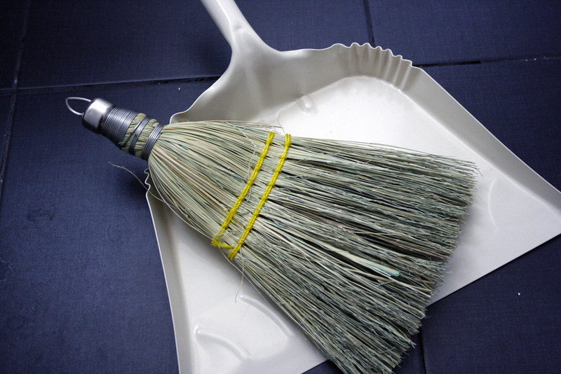 dust broom/pan