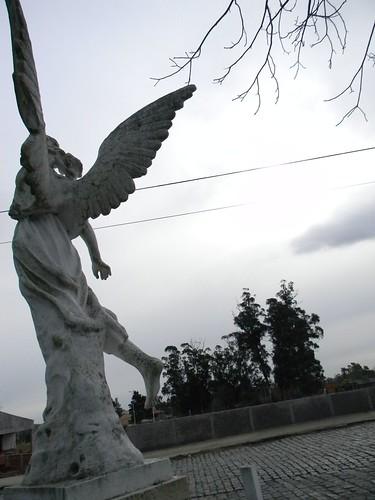 One arm angel 2 - Angel de un solo brazo 2 by tear_mdf