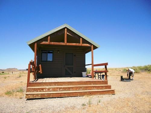 Cabin in Bruneau Dunes State Park