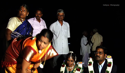Marriage ceremony @ Kanchi temple