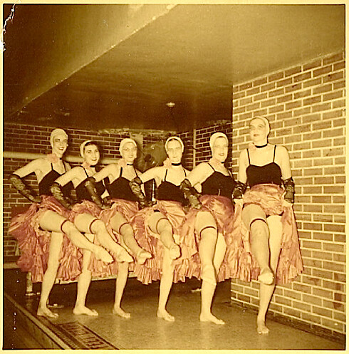 1950s Synchrinized Swimmers