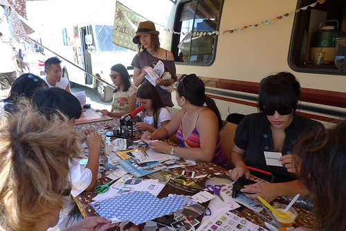 urban craft center zine workshop @ renegade