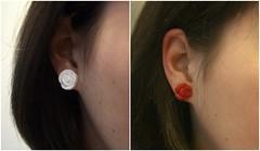 handmade52.29 button earrings