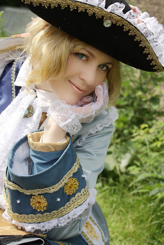 Axis Power Hetalia Francis Bonnefoy Cosplay