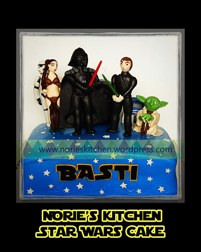 Norie's Kitchen - Star Wars Cake by Norie's Kitchen