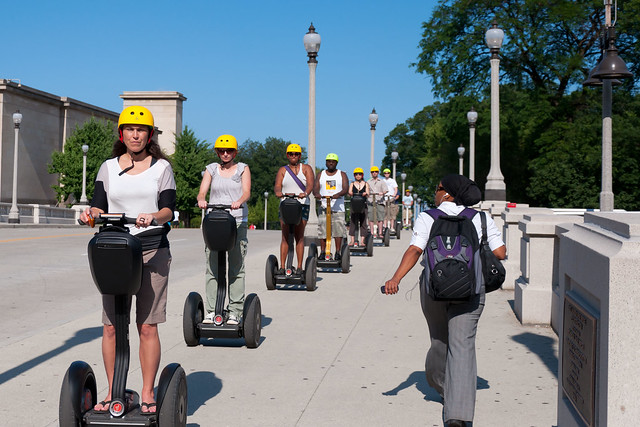 The Segway invasion