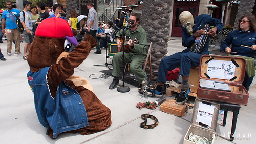 sdcc bear and band
