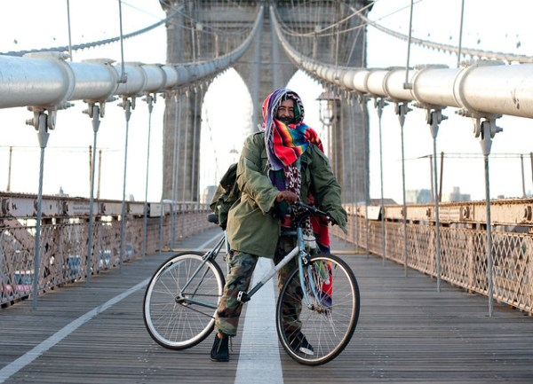 Eshete on wheels: Brooklyn Bridge