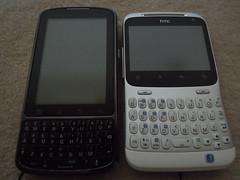 Motorola Droid Pro & HTC ChaCha