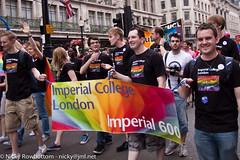 Pride London Parade, July 2011