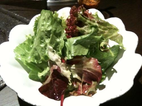 定番グリーンサラダ。