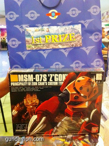 Free SD Astray Red Frame at TK Gundam Detailing Contest Caravan (41)