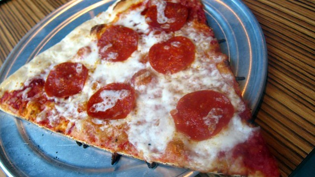 pepperoni pizza at westside pie