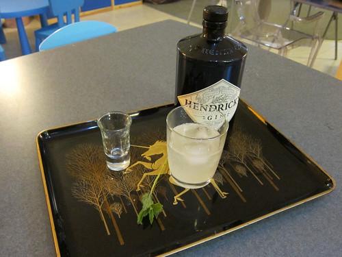 Mint Lemonade + Gin