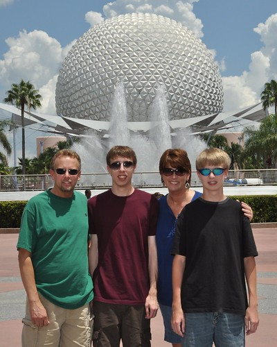Family Shot - Epcot