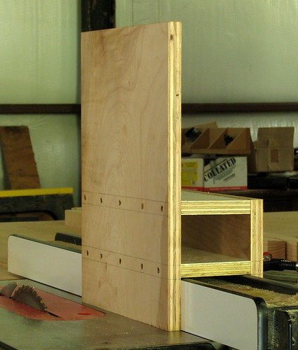 Vertical Tablesaw Jig