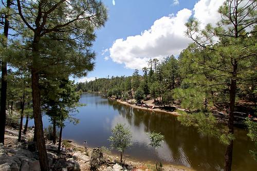 Rose Canyon Lake by SearchNetMedia