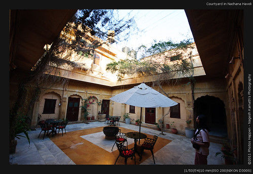 Courtyard in Nachana Haveli