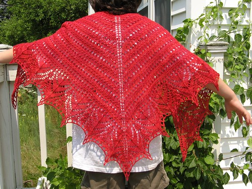 2546 Red Seas Shawl